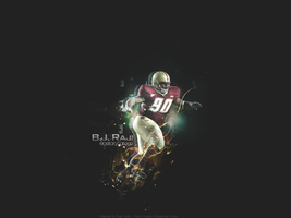 B.J Raji Wallpaper by Kdawg24