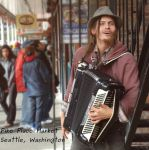 Seattle Street Performer by napoland