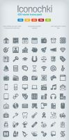 Iconochki iconset by BraveDesign