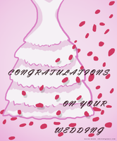 Bridal Shower Card - commission by ThisDyingDog