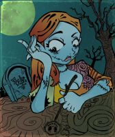 Sally loves Jack by kraola