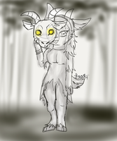 The Forest Dweller by Izzyhime
