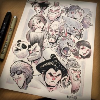 GIVEAWAY! This Tekken Fan-Art could be yours! by kshiraj