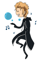 KH Time! - Demyx by infinitehearts
