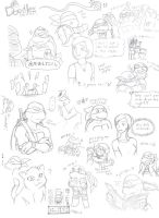 Big Page 'o' Doodles by Fuwa2-Kyara