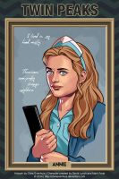 Twin Peaks - Annie by ChrisEvenhuis