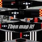 P-51 Testure Map by Thunderossa