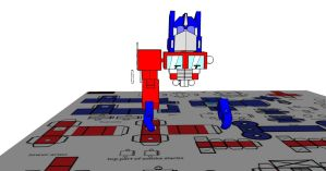 lil optimus in 3d 4 by Lilscotty