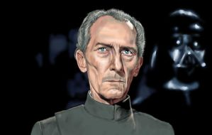 Grand Moff Tarkin by HeavenhairSixes