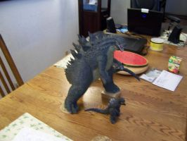 Godzilla 2014 Resin Model 39 by cwpetesch
