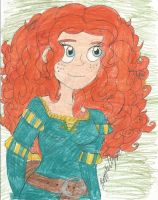 Brave: Merida by brookellyn