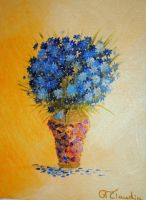 Blue Bouquet by Camille-Light