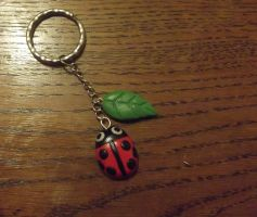 Ladybird charm by MeticulousBlue