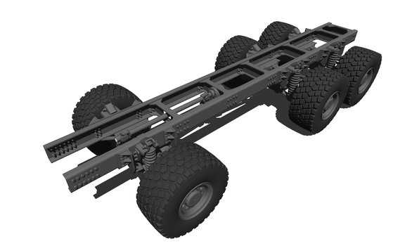 Custom Military Truck Chassis Design - #001 by K-E93-3