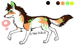 special design wolf adoptable1 - CLOSED! by StanHoneyThief