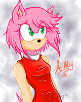 Amy Rose by neko-russia