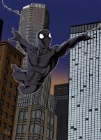 New Spidy by thelearningcurv