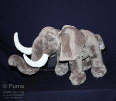 The Lion King - Elephant plush by dapumakat