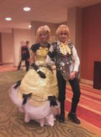NDK2013-Vocaloid Servant of Evil by peppermix14