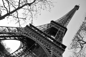Eiffel Tower by Sparty91