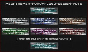 MEGATHEMER-Forum-Logo-Design-Vote by mTnHJ