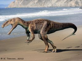 Eustreptospondylus by NTamura