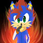 Buster? (2d-no lines style) by fangirl-sonicteam