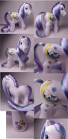 Snoopy custom my little pony by Woosie
