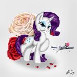 Rarity's Birthday Present by The-Revered-Dragon