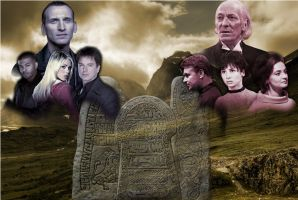 Doctor Who - The Runic Prophecy (Original Fan Art) by Warhammer-Fanatic