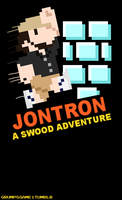 JonTron NES Label by Salami-Butts
