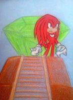 OHSCM06- Knuckles the Guardian by Sky-The-Echidna