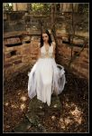 Kathryn - Queen on Throne 1 by wildplaces