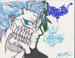 Grimmjow Style by 1BetaOne