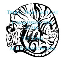 Tribal Yin Yang Tiger and Cat COM by ShadowKira