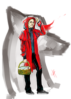 Red riding hood by Pandora-Poe