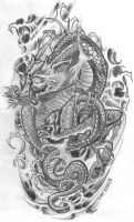 Tattooflash Dragon by 2Face-Tattoo