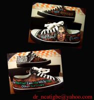 Harry Potter on Canvas Shoes by alcat2021