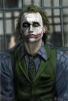The Joker -  The Dark Knight by Saryetta86