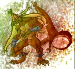 Pyschadelic Dragon by ElectricDawgy
