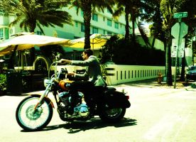 On the road in Miami by Propice