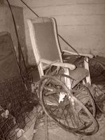 fig 2 THE WHEELCHAIR by porcelainplaymate