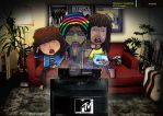 Watchmens MTV ID by moncheche