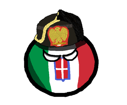 Fascist Italy Countryball by QuisaMaps