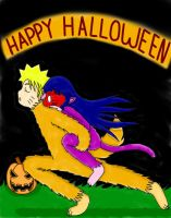 Naruhina: Happy Halloween by xmizuwaterx