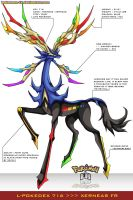 Pokedex 716 - Xerneas FR by Pokemon-FR