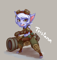 Bandle Gunner Tristana! by Lui421