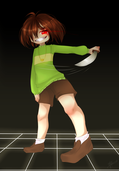 Chara Genocide by DemonGalaxy