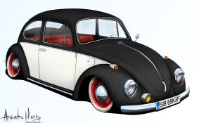 VW Beetle 1969 by the-mba