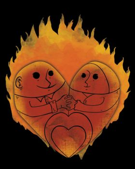 Love burn by eQuivalent12